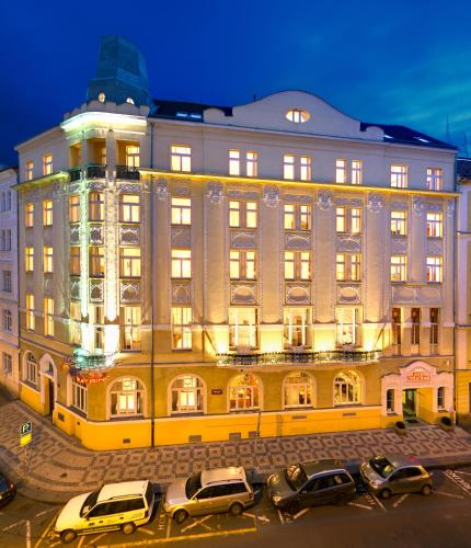 The 10 best spa hotels in prague czech republic for Hotel reservation in prague