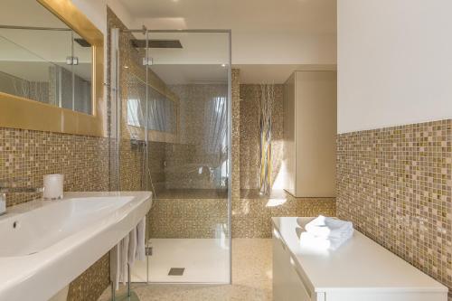 A bathroom at Ca' Rossini 1