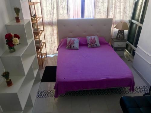 Cama o camas de una habitación en Sol y Mar