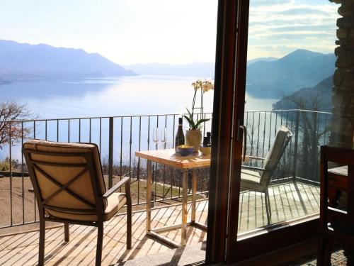 A balcony or terrace at Cascina Borchina