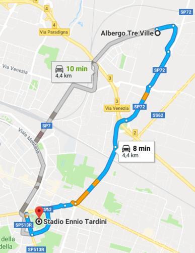Albergo Tre Ville