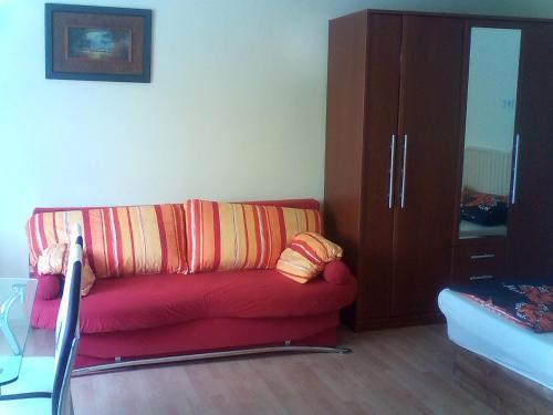 Posezení v ubytování Apartmány-Lelovics-Ubytovanie