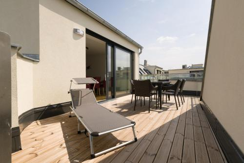 A balcony or terrace at Yourapartment Ruepp