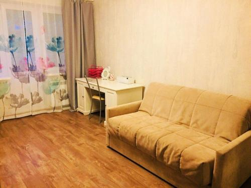 Гостиная зона в Apartment on Leonova 16