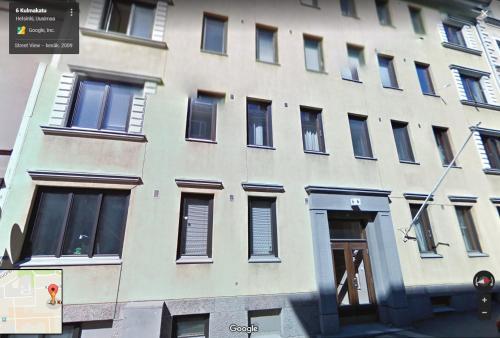Bygningen som lejligheden ligger i