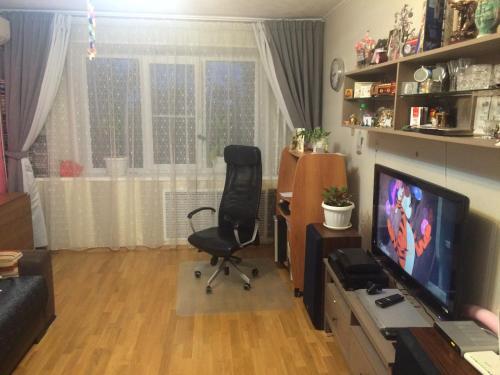 Телевизор и/или развлекательный центр в Apartments on Sevasopolskaya