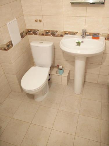 Ванная комната в Апартаменты Amur University Apartments