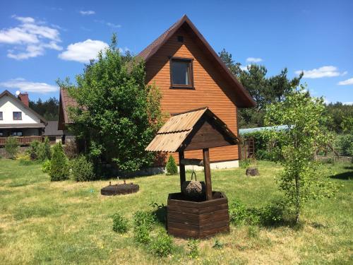 A garden outside Gorczyca Reset