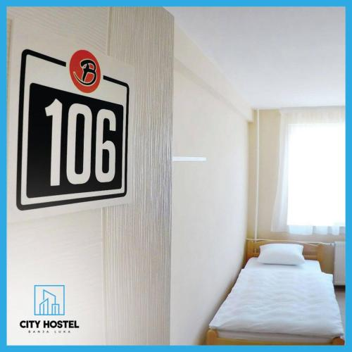 A bed or beds in a room at City Hostel Banja Luka