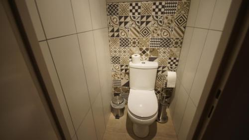 Salle de bains dans l'établissement studio 403