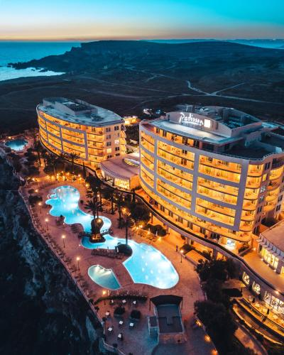 A bird's-eye view of Radisson Blu Resort & Spa, Malta Golden Sands
