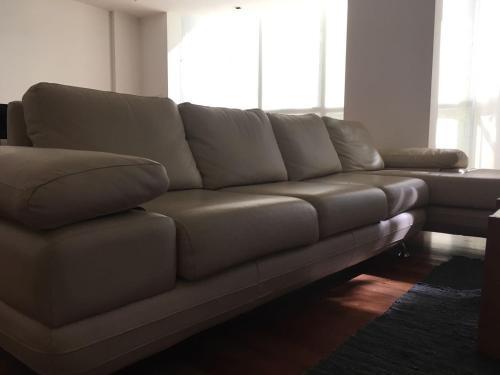 A seating area at Edificio Clever