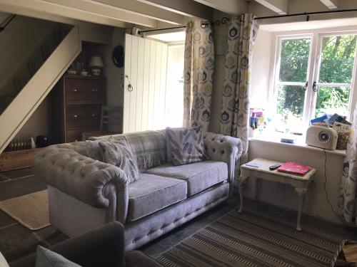 A seating area at Vicarage Cottage