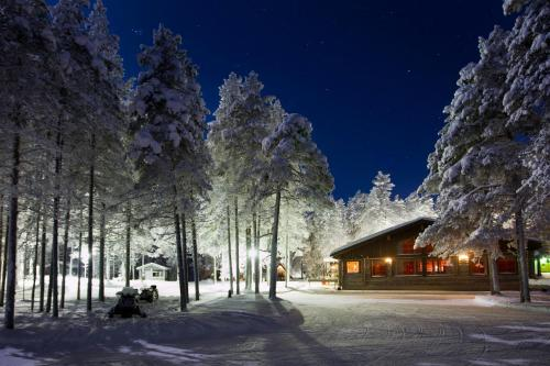 Holiday Village Himmerki during the winter
