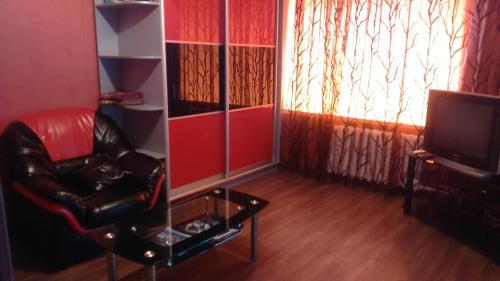 Гостиная зона в Современная студия на Набережной 133