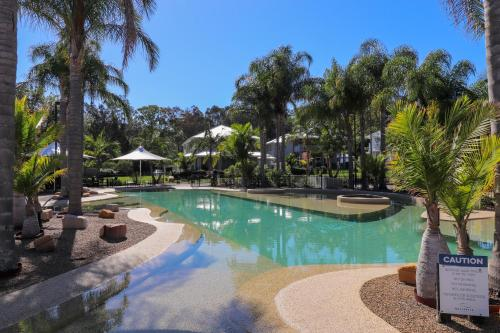 The swimming pool at or near Dollarbird Treetops Townhouse