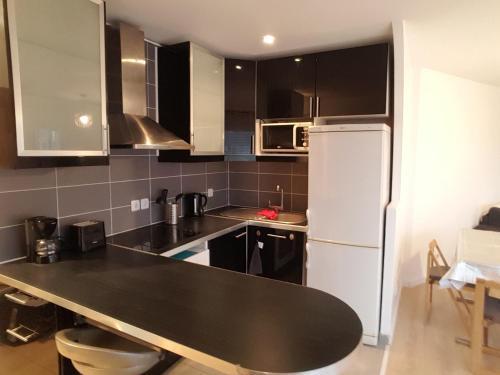 A kitchen or kitchenette at Appartement Villepinte