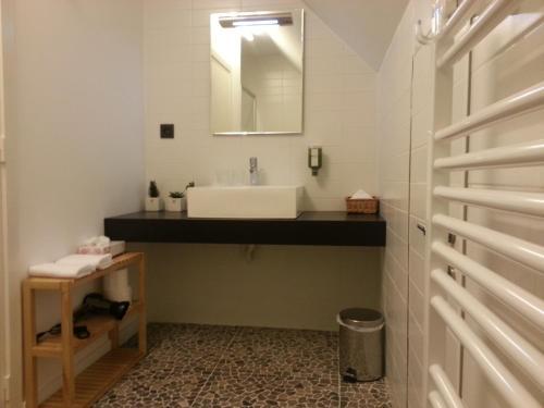 A bathroom at Huis van Vletingen Apartment