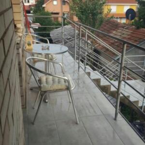 Balkon ili terasa u objektu Apartman Lea