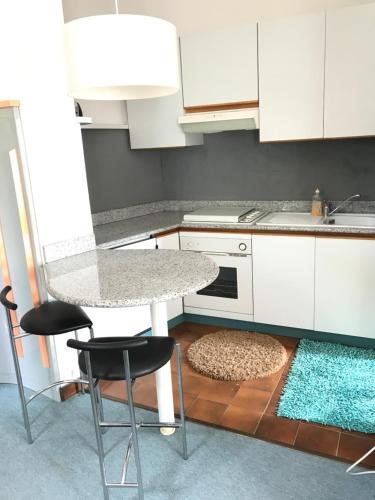A kitchen or kitchenette at Lugano lake's luxury residence