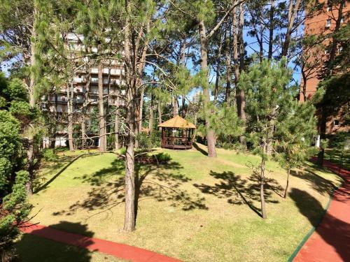 A garden outside Complejo Arcobaleno