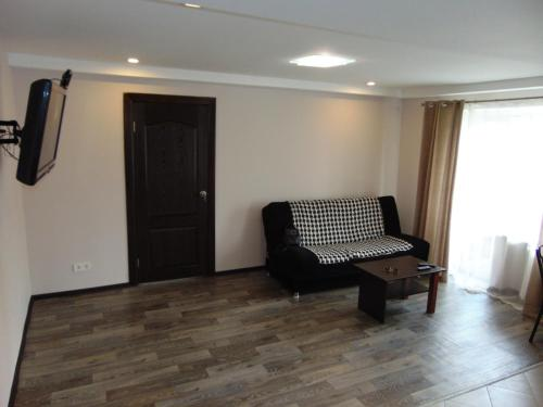 Гостиная зона в Apartment on Sobornyi avenue 133