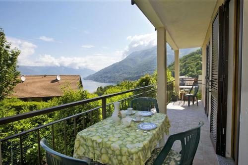 A balcony or terrace at Appartamento Rosalia