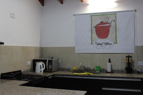 Kjøkken eller kjøkkenkrok på Casa Crisolito