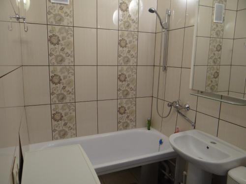 Ванная комната в Apartment on Myasishcheva 8