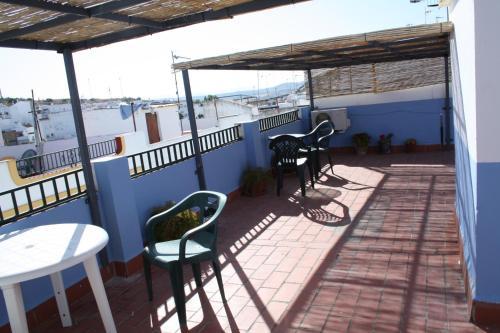 A balcony or terrace at Casa Lomas