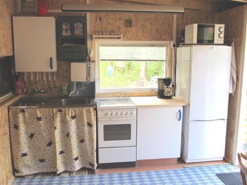 Ett kök eller pentry på Smalandsstuga