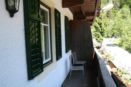 A balcony or terrace at Gasthof Grieswirt