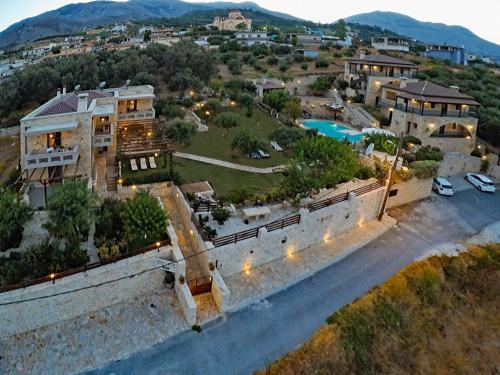 Een luchtfoto van Asion Lithos