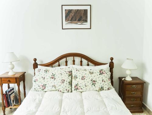 Ένα ή περισσότερα κρεβάτια σε δωμάτιο στο Charming SanTelmo Location