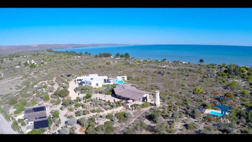 Vista aèria de Villa Claire