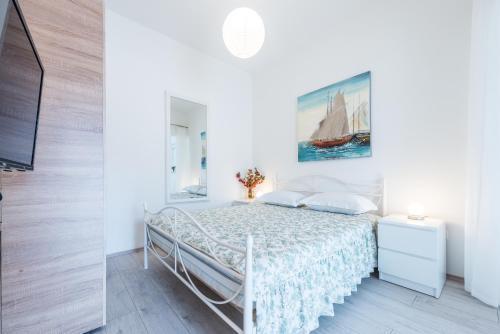 Un ou plusieurs lits dans un hébergement de l'établissement Luxury Apartments