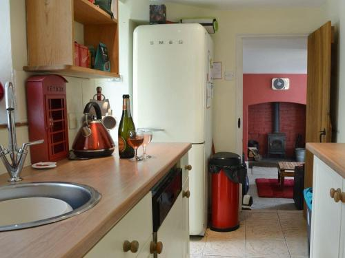 Una cocina o zona de cocina en Cross House