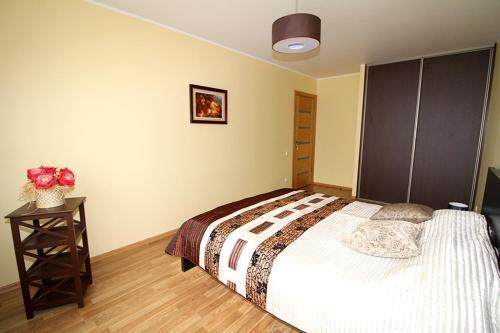 Lova arba lovos apgyvendinimo įstaigoje Sauliaus apartamentai