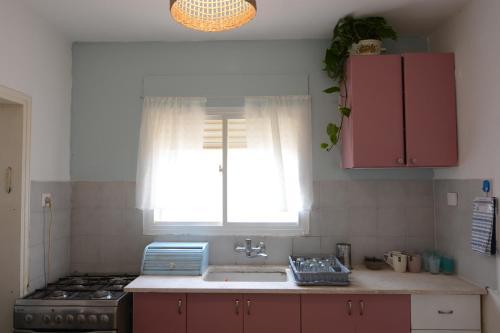 Küche/Küchenzeile in der Unterkunft Little Desert House
