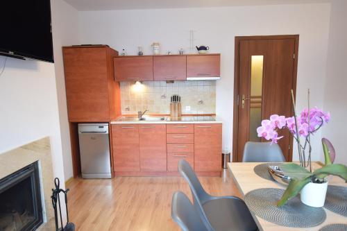 Kuchnia lub aneks kuchenny w obiekcie Apartament Cztery Pory Roku