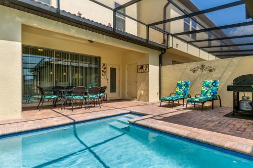 A piscina em ou perto de 4 Bedroom Townhouse with Lazy River, Windsor at Westside!