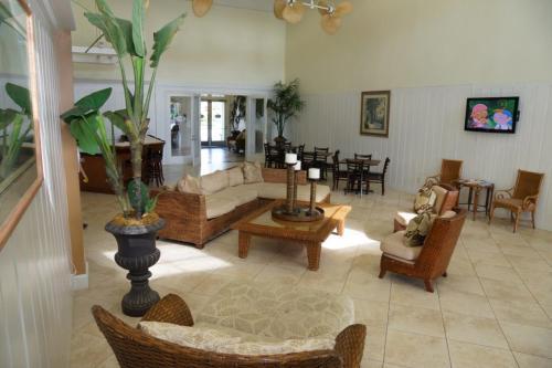 Hall ou réception de l'établissement Runaway Beach Club Rab10103 Condo