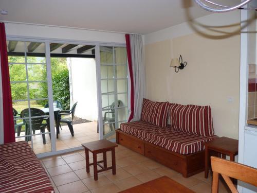 A seating area at N23, parc d'arradoy-St J P de Port