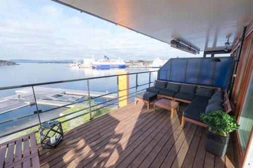 Wright Apartments - Sørenga tesisinde bir balkon veya teras