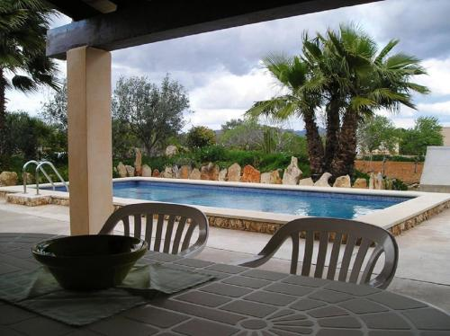 The swimming pool at or near Casa Ses Valentines