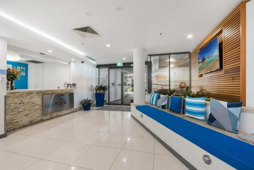 The lobby or reception area at Seamark on First