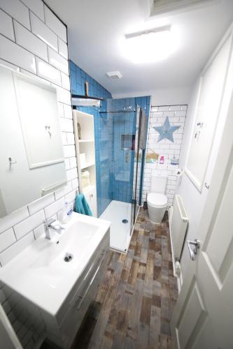 Kúpeľňa v ubytovaní Magdalen Quarters