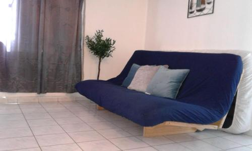 A seating area at Beach Front Apt Isla Verde 3