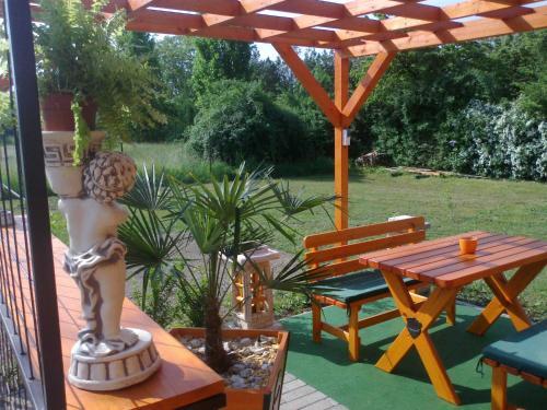 A garden outside Minilux Studio