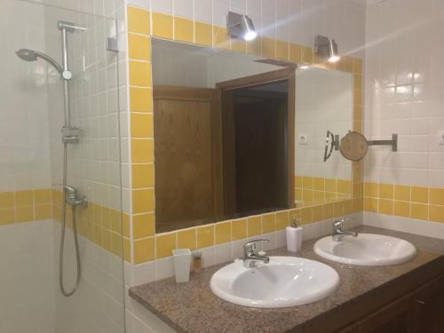 A bathroom at Salvacasa